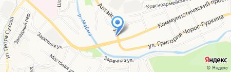 Кредит-Сервис на карте Горно-Алтайска