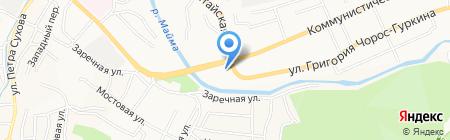 Авто Круиз на карте Горно-Алтайска