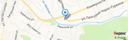 РИГОР на карте Горно-Алтайска