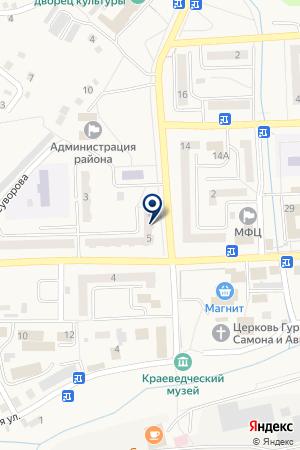 АВАРИЙНАЯ СЛУЖБА ЭСУТ на карте Гурьевска