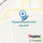 Лада на карте Гурьевска