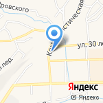 КПРФ на карте Гурьевска