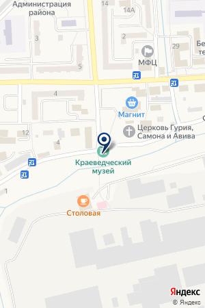 АВТОСЕРВИС ПАЛИТРА на карте Гурьевска