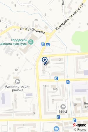 МАГАЗИН ЭЛИС-КОМПАНИ на карте Гурьевска