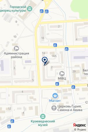 АНТЕННАЯ СЛУЖБА на карте Гурьевска