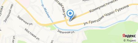 Следственное Управление Следственного комитета РФ по Республике Алтай на карте Горно-Алтайска
