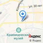 МегаФон на карте Гурьевска