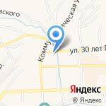 Кемеровостат на карте Гурьевска