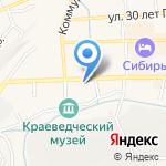 Виола на карте Гурьевска
