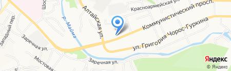 Аптечный пункт на карте Горно-Алтайска
