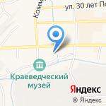 Ольга на карте Гурьевска