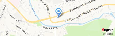 Банкомат АКИБ Образование на карте Горно-Алтайска