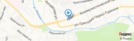 Смак на карте Горно-Алтайска