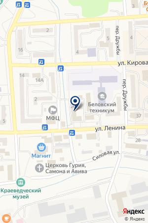 МАГАЗИН ДЕКОР на карте Гурьевска