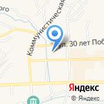 Гурьевская межрайонная прокуратура на карте Гурьевска