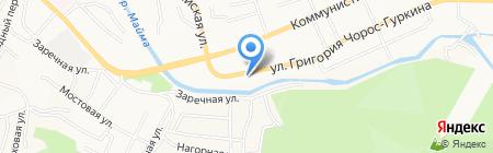 АртСалют на карте Горно-Алтайска