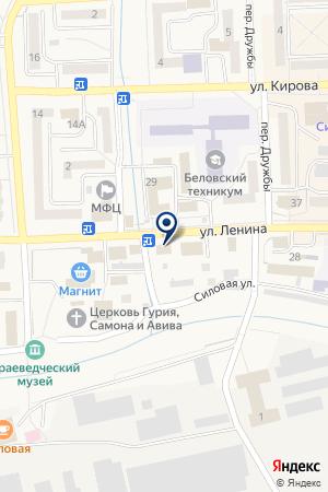 АПТЕКА НА ЗАВОДСКОЙ на карте Гурьевска