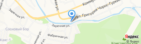 АК-Буркан на карте Горно-Алтайска