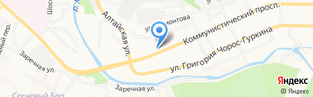 Бухгалтерская компания на карте Горно-Алтайска