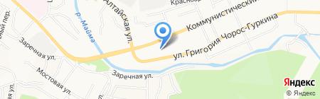 Центр занятости населения г. Горно-Алтайска на карте Горно-Алтайска
