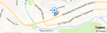 Платежный терминал Сбербанк России на карте Горно-Алтайска