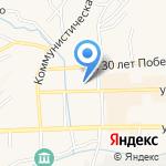 Районная централизованная библиотечная система Гурьевского района на карте Гурьевска