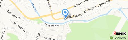 БААТЫР на карте Горно-Алтайска