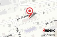 Схема проезда до компании Техснаб в Горно-Алтайске
