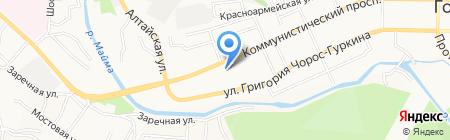 Молодежный центр г. Горно-Алтайска на карте Горно-Алтайска