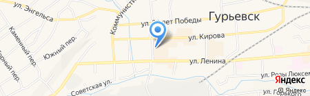 Сезон на карте Гурьевска