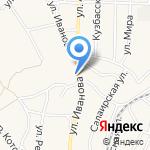 Надежда на карте Гурьевска