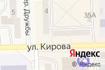 Схема проезда до компании Аллегро в Гурьевске