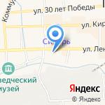 Расчетно-кассовый центр на карте Гурьевска