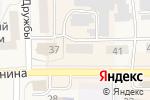 Схема проезда до компании Милена в Гурьевске