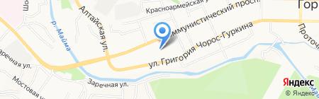 Атака на карте Горно-Алтайска