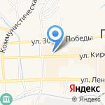 Чибис на карте Гурьевска