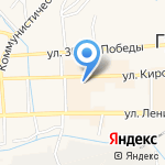 Технический центр на карте Гурьевска
