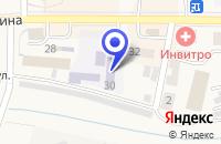 Схема проезда до компании ГАЗОВОЕ ХОЗЯЙСТВО БЕЛОВОМЕЖРАЙГАЗ в Гурьевске