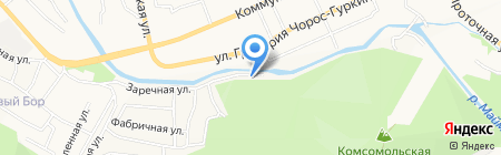 Ресютур на карте Горно-Алтайска