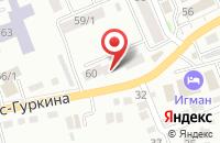 Схема проезда до компании Дорэнергострой в Поспелихе