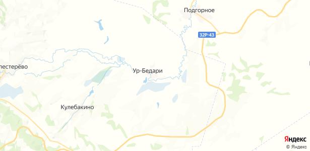Ур-Бедари на карте