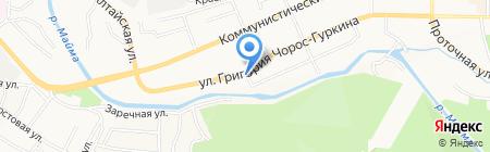 Пивной барон на карте Горно-Алтайска
