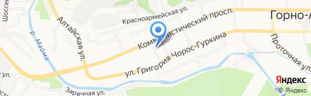 АлтайКлюч на карте Горно-Алтайска