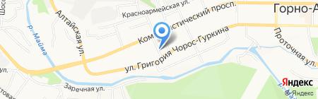 Faberlic на карте Горно-Алтайска