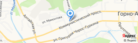 Леди-Люкс на карте Горно-Алтайска