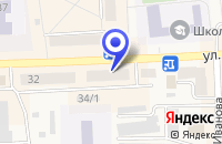 Схема проезда до компании МАГАЗИН РИТМ в Гурьевске
