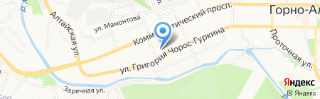 Хозтовары на карте Горно-Алтайска