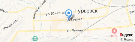 Аптека на карте Гурьевска