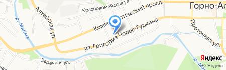 Микрофинанс-Алтай на карте Горно-Алтайска