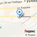 ОКНА FOGEL на карте Гурьевска